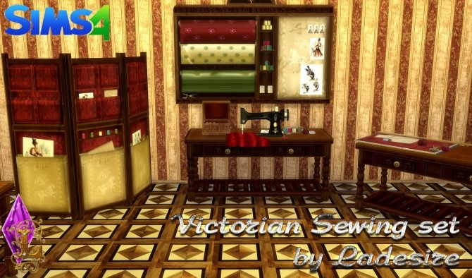 Victorian Sewing Set at Ladesire image 2105 670x394 Sims 4 Updates