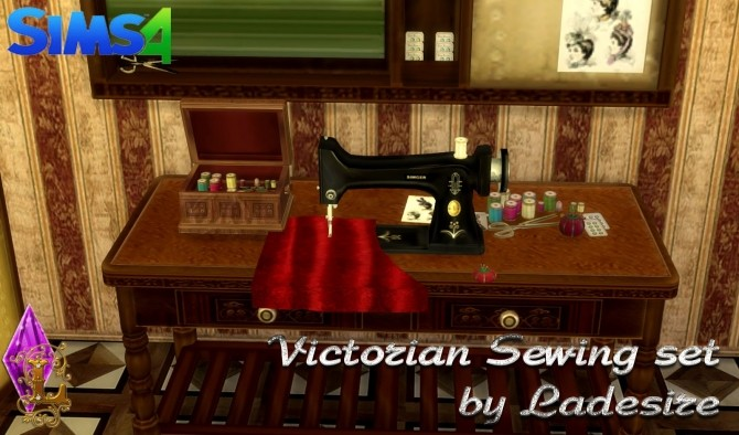 Victorian Sewing Set at Ladesire image 21111 670x394 Sims 4 Updates