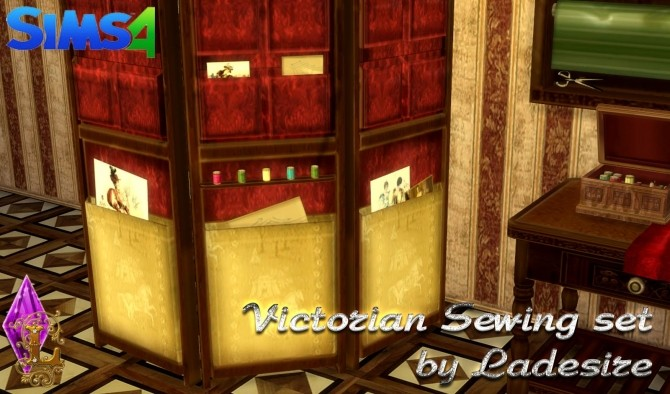 Victorian Sewing Set at Ladesire image 2126 670x394 Sims 4 Updates