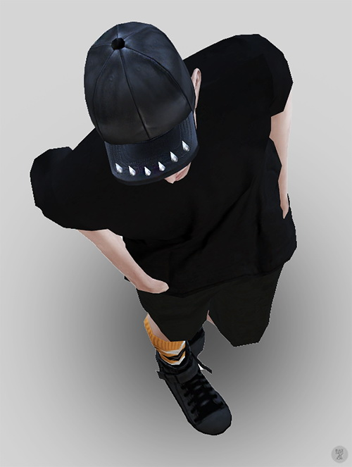 Spike hat at Black le image 2136 Sims 4 Updates