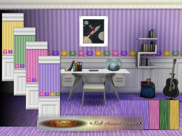 Sims 4 Kids Animal Striped by emerald at TSR
