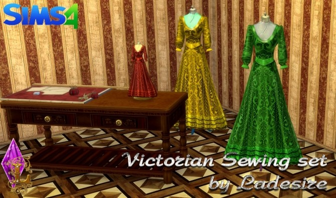 Victorian Sewing Set at Ladesire image 2143 670x394 Sims 4 Updates