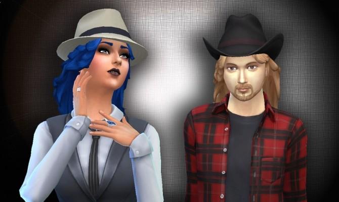 Sims 4 Blow Hair at My Stuff
