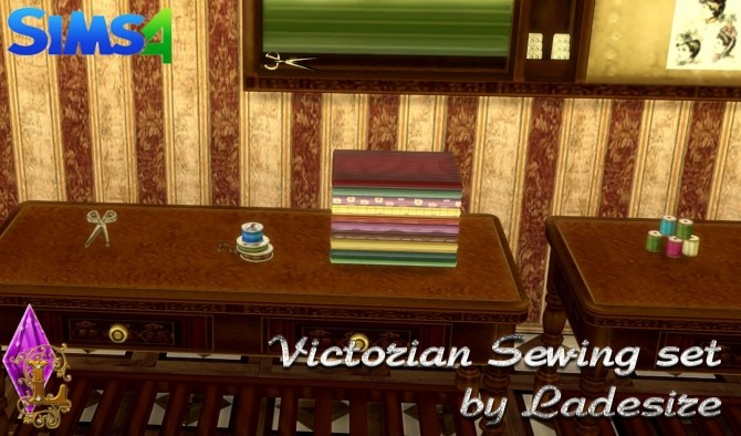Victorian Sewing Set at Ladesire image 2153 670x394 Sims 4 Updates