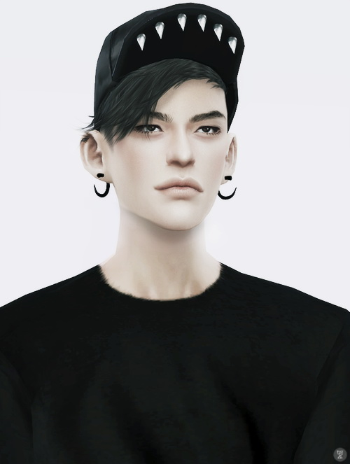 Sims 4 Spike hat at Black le