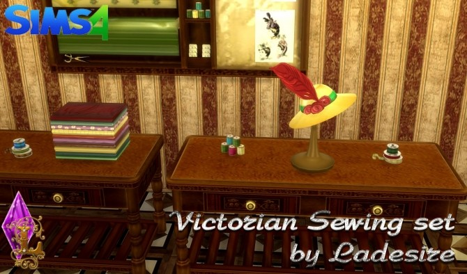 Victorian Sewing Set at Ladesire image 2164 670x394 Sims 4 Updates