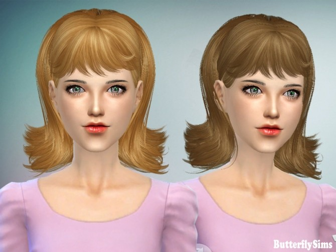 Hair 064 No hat (Pay) at Butterfly Sims image 2221 670x503 Sims 4 Updates