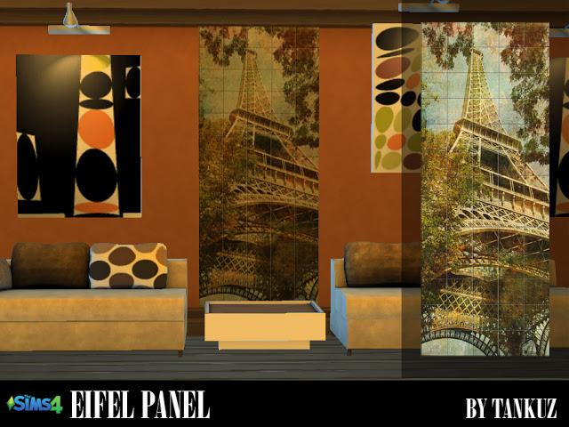 Eifel Panel at Tankuz Sims4 image 2225 Sims 4 Updates
