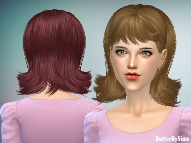 Hair 064 No hat (Pay) at Butterfly Sims image 223 670x503 Sims 4 Updates