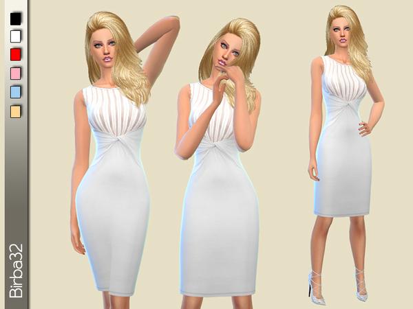 Soft transparencies dress by Birba32 at TSR image 2232 Sims 4 Updates