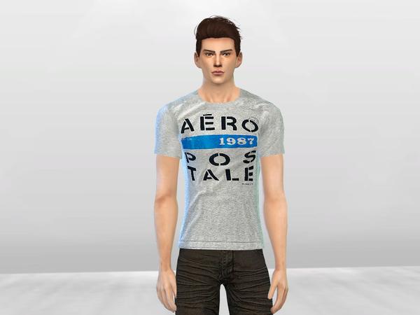 Aero Graphic Tees by McLayneSims at TSR image 2238 Sims 4 Updates
