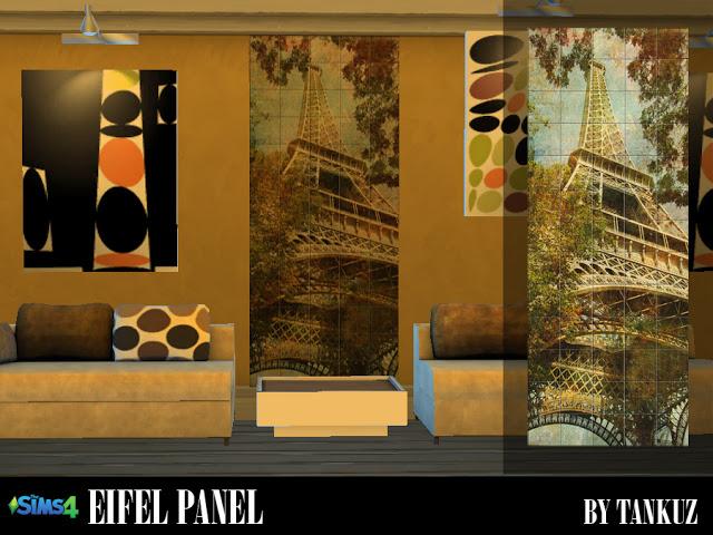 Eifel Panel at Tankuz Sims4 image 2244 Sims 4 Updates