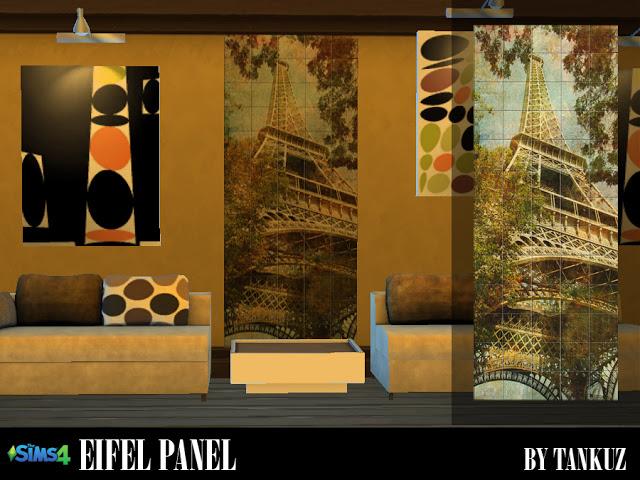 Eifel Panel at Tankuz Sims4 image 2264 Sims 4 Updates