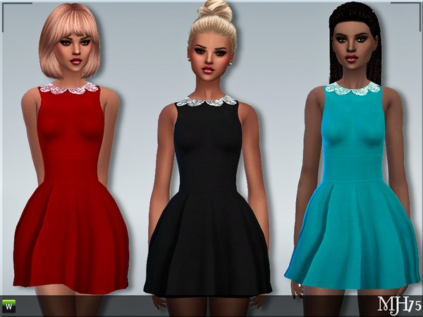 S4 Taylor Dress by Margeh 75 at TSR image 2316 Sims 4 Updates