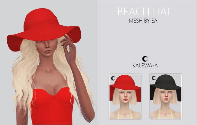 Beach Hat at Kalewa a image 2342 Sims 4 Updates