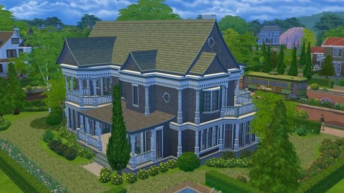 Sims 4 Villa Victoria at DeSims4