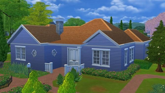 Sims 4 Agatha's Road house at DeSims4