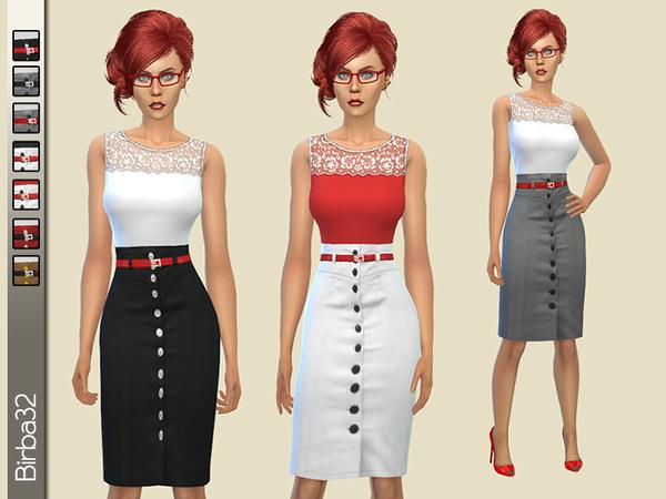 Sims 4 Women at work by Birba32 at TSR