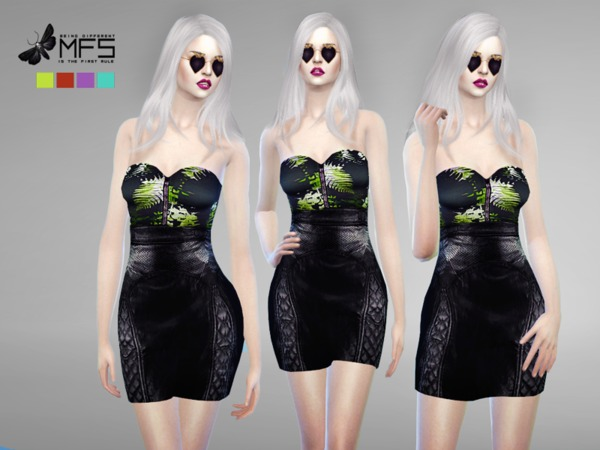 MFS Rowena Dress by MissFortune at TSR image 249 Sims 4 Updates