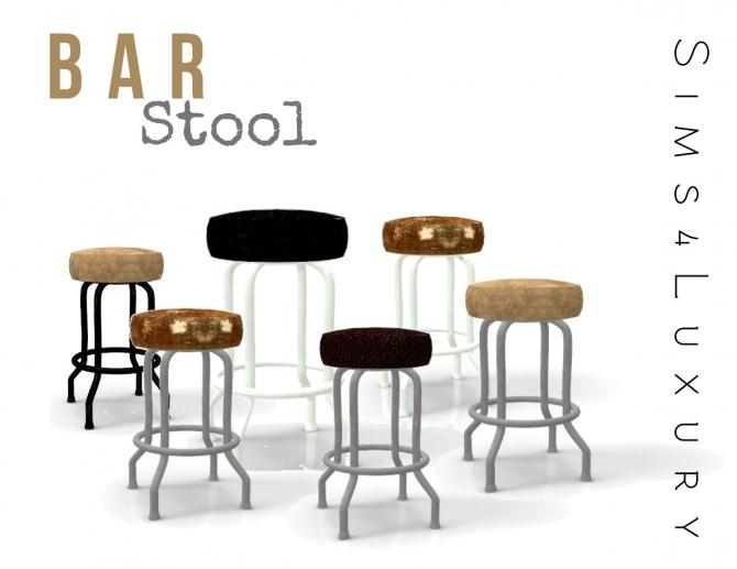 Bar Stool At Sims4 Luxury 187 Sims 4 Updates