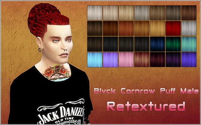 Sims 4 Hair retexture at Nylsims