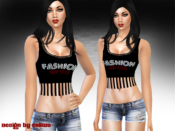 Fashion Style Full Outfit by Saliwa at TSR image 2722 Sims 4 Updates