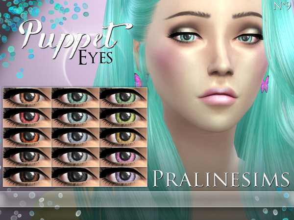 Sims 4 Puppet Eyes by Pralinesims at TSR