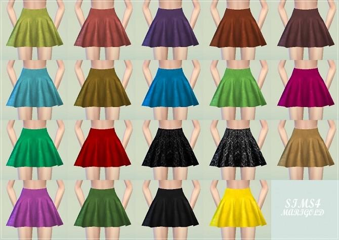 Flared mini skirt at Marigold image 298 670x475 Sims 4 Updates