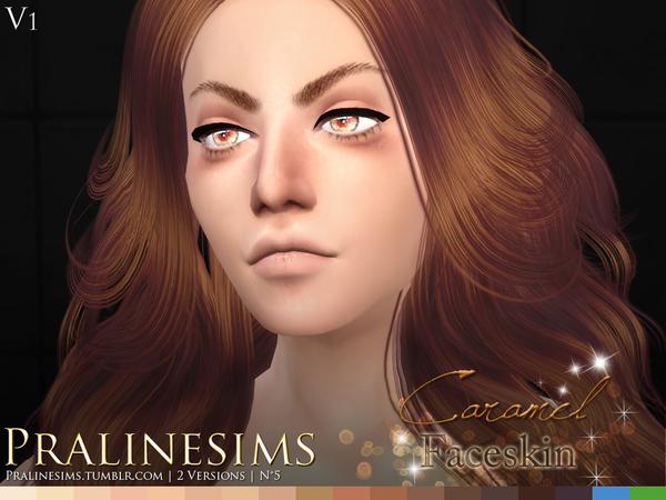 Caramel Faceskin by Pralinesims at TSR image 3101 Sims 4 Updates