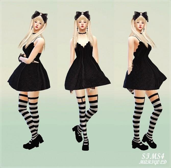 Big lace bow head band at Marigold image 328 670x658 Sims 4 Updates