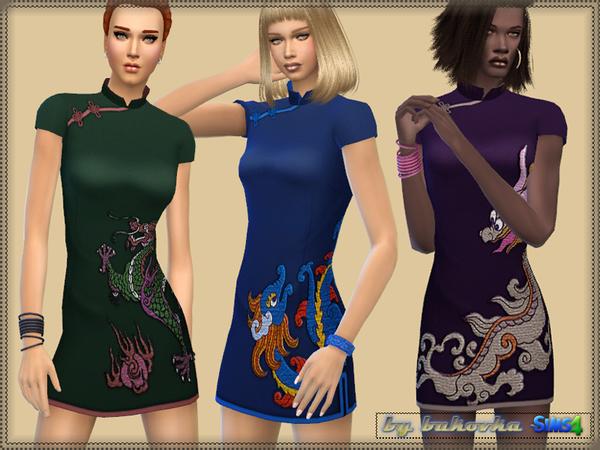 Dress Dragon by bukovka at TSR image 336 Sims 4 Updates