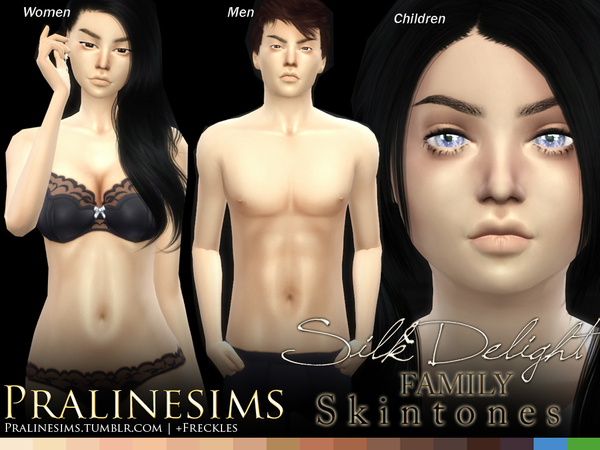 Silk Delight skintones + Body Freckles by Pralinesims at TSR image 3419 Sims 4 Updates