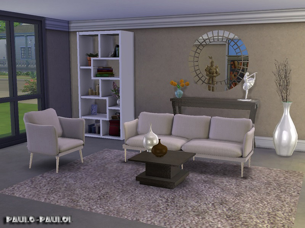 Living room Fiona by paulo paulol at TSR image 3422 Sims 4 Updates
