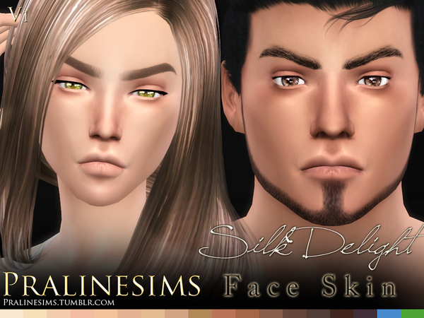 Silk Delight skintones + Body Freckles by Pralinesims at TSR image 3518 Sims 4 Updates