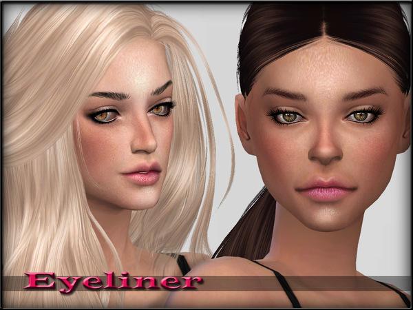 EyeLiner Set1 by ShojoAngel at TSR image 3613 Sims 4 Updates