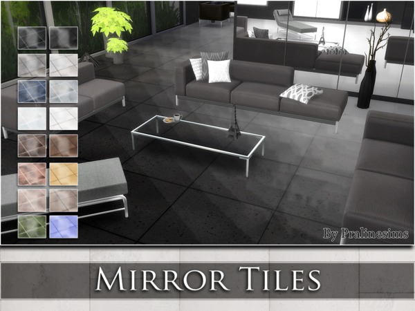 Sims Floor Elevation Cheat : Mirror tiles by pralinesims at tsr sims updates