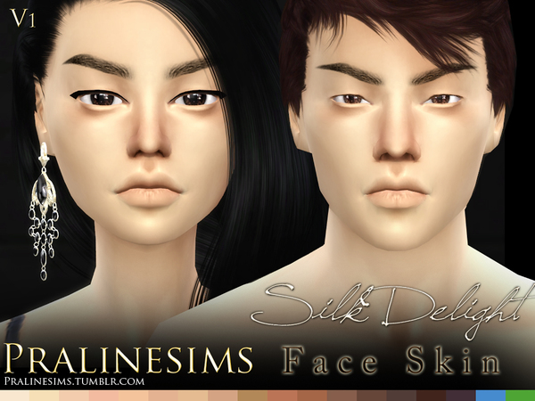 Silk Delight skintones + Body Freckles by Pralinesims at TSR image 3620 Sims 4 Updates