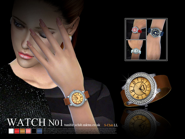Sims 4 Watch 01(f) by S Club LL at TSR