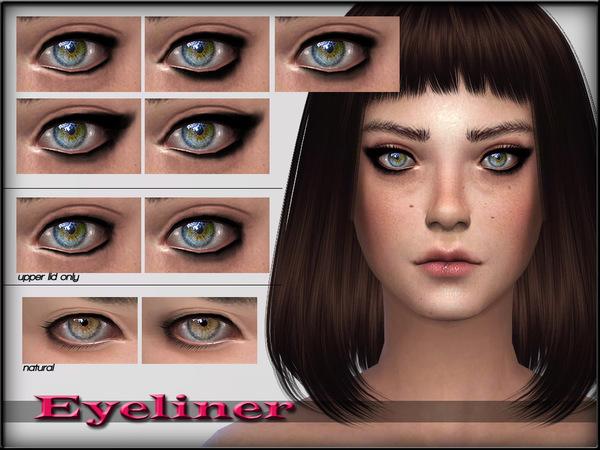Sims 4 EyeLiner Set1 by ShojoAngel at TSR