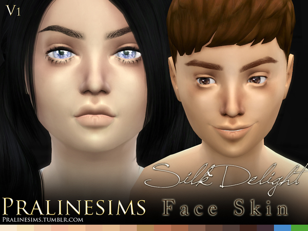 Silk Delight skintones + Body Freckles by Pralinesims at TSR image 3720 Sims 4 Updates