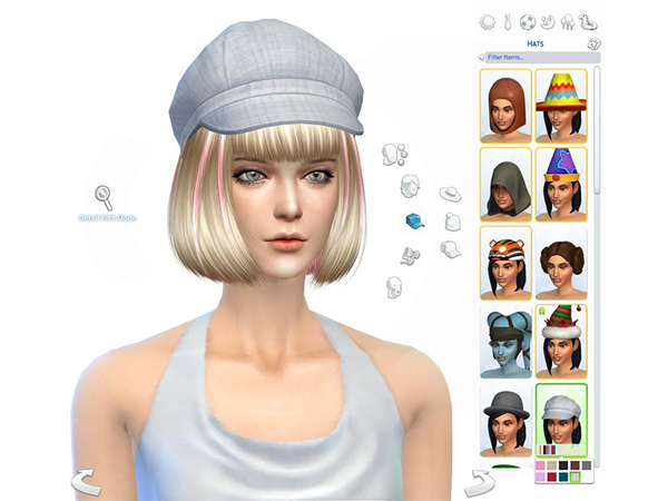 Hair #2 by S Club MK at TSR image 4 Sims 4 Updates