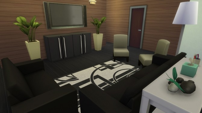 Sims 4 Modern Cypress by RayanStar at Mod The Sims