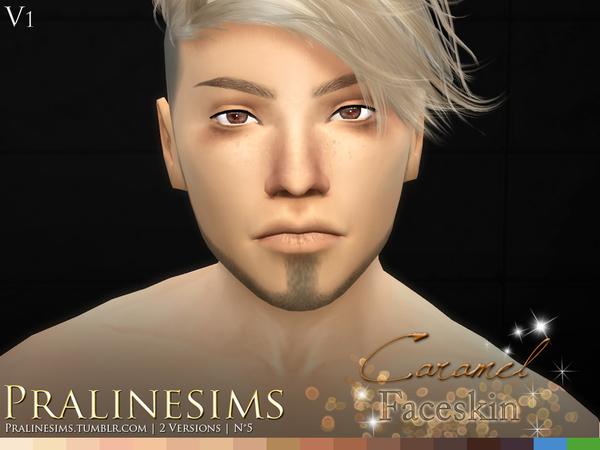Caramel Faceskin by Pralinesims at TSR image 4100 Sims 4 Updates