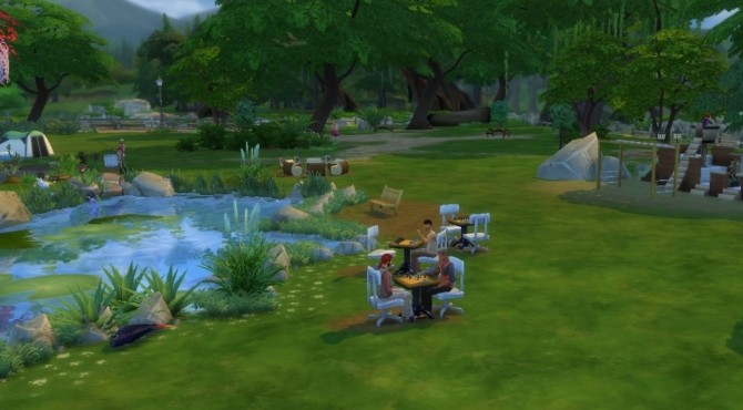 LilyPad Lake Park...Swimming, Fishing, Picnic, Playground. Camp Site.. by mrsyule at Mod The Sims image 488 670x370 Sims 4 Updates