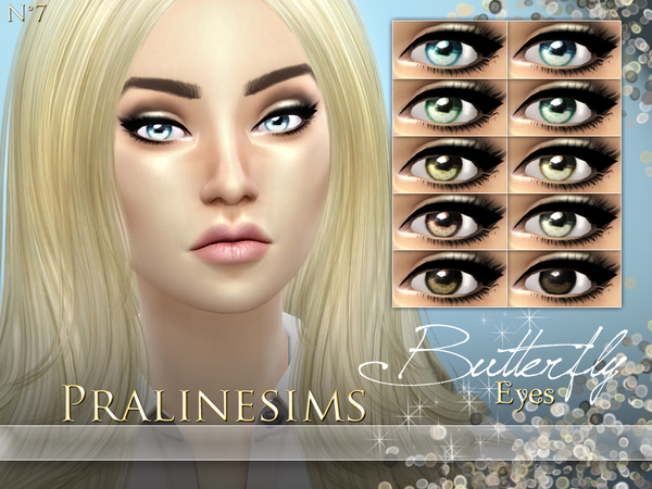 Butterfly Eyes by Pralinesims at TSR image 5019 Sims 4 Updates