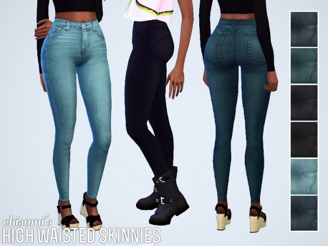 Skinnies and hoodie at Chisami image 5216 670x503 Sims 4 Updates