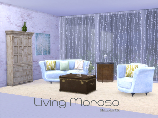 Living Moroso by ShinoKCR at TSR image 530 Sims 4 Updates