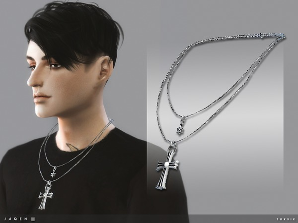 Sims 4 Jaqen Necklace by toksik at TSR