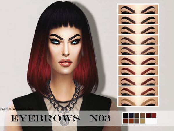 FRS Eyebrows N03 by FashionRoyaltySims at TSR image 5712 Sims 4 Updates