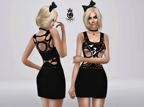 Sims 4 Mark Fast Dress at Fashion Royalty Sims